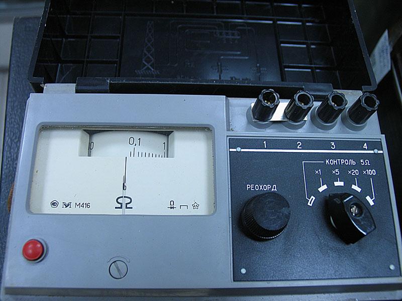 Мегаомметр М-416