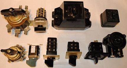Разнообразие пакетных выключателей