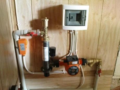 электронасоса для отопления автомат
