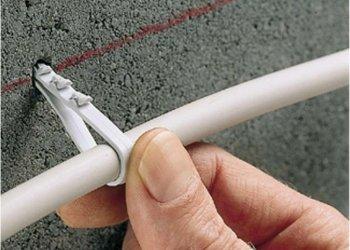Каким бывает крепеж для электропроводки