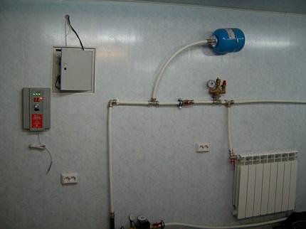 Локальная система водяного отопления