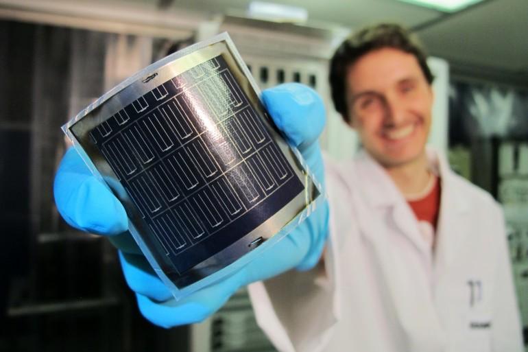 Панель солнечная на основе CIGS