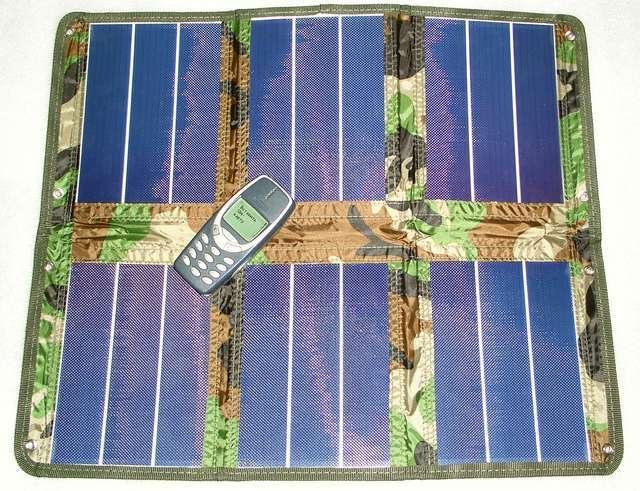 SunCharger SC-9/14· - батарея в сложенном виде