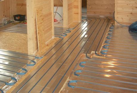 теплый пол на деревянное основание