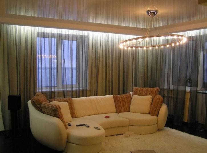 Как сделать светодиодную подсветку штор: подробная инструкция от экспертов