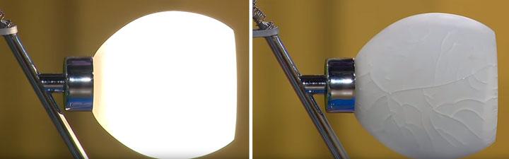 почему стеклянные плафоны настольной лампы опасны