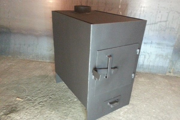 Печь для гаража с конвектором