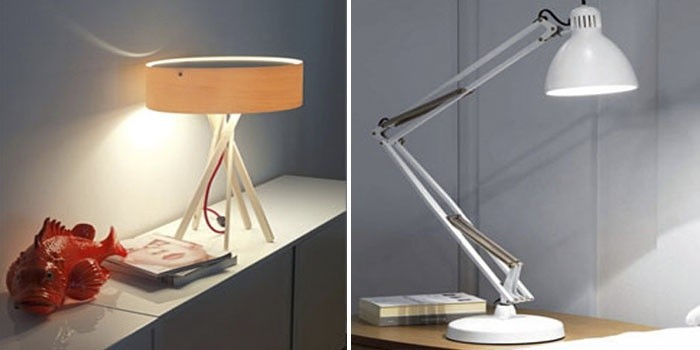 Декоративная и настольная лампа