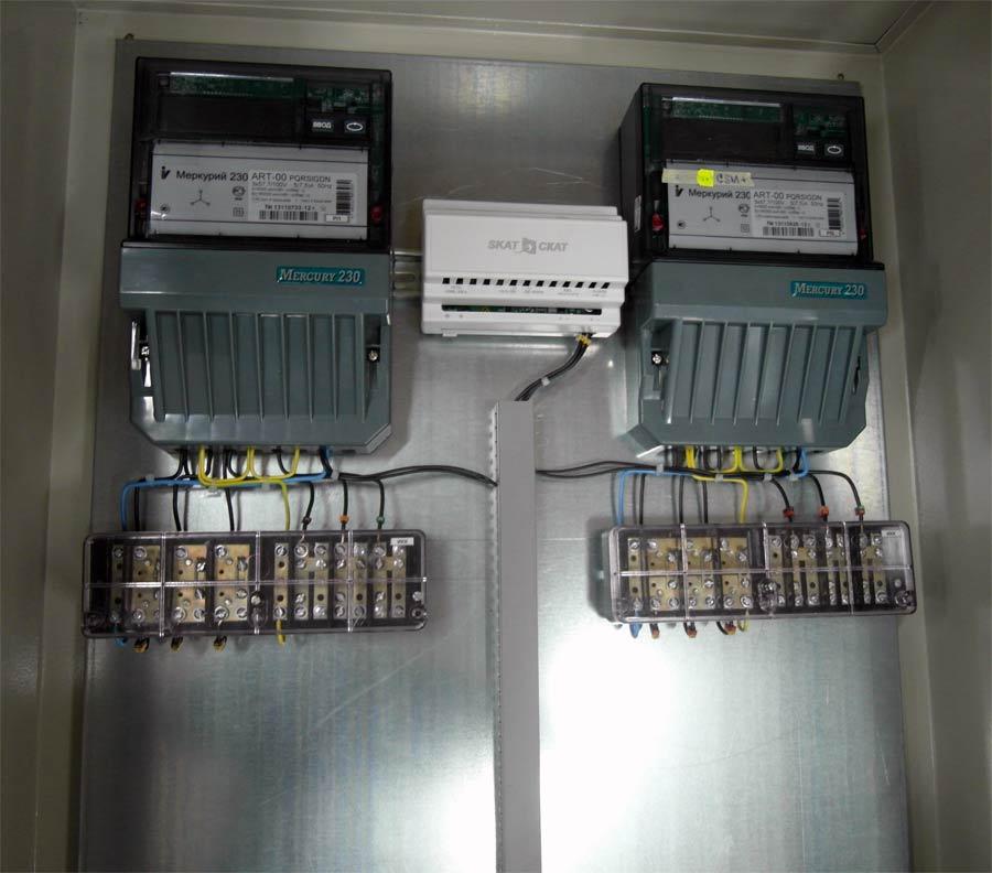 Счетчик Меркурий 230 подключен к трансформатору