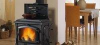 Выбор дровяной чугунной печи для дачи и загородного дома