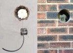 Вывод воздуховода сквозь стену
