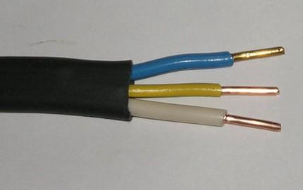Жилы трехжильного кабеля