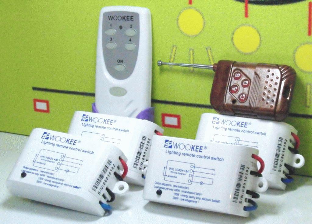 Обзор популярных марок дистанционных выключателей