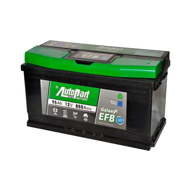 EFB (необслуживаемые) аккумуляторы
