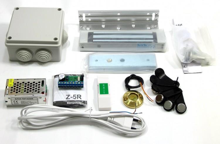 Комплект оборудования для установки запирающего механизма