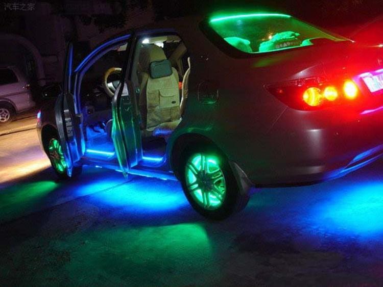 Светодиодная внешняя подсветка автомобиля