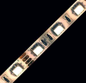 Матрица светодиодов 5050. Мощность одного такого светодиода примерно равна 200 миливаттам