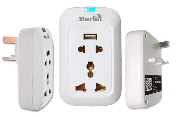 Merlin Wi Fi Smart Wall Socket: фото
