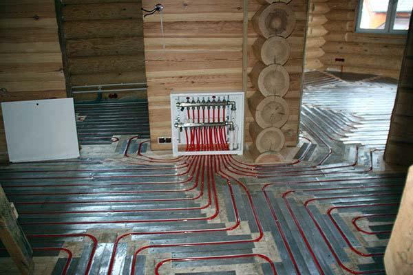 Настильная система в деревянном доме