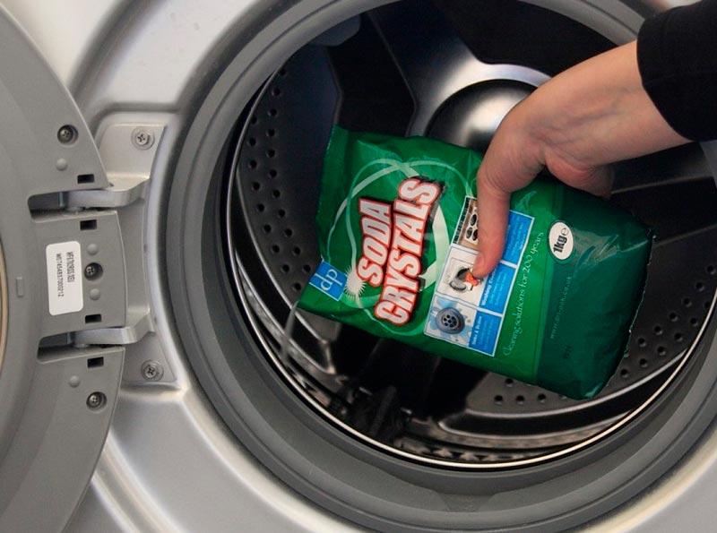 Очистка машинки специальным средством
