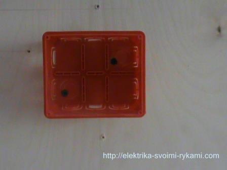Схема подключения двухклавишного выключателя 1