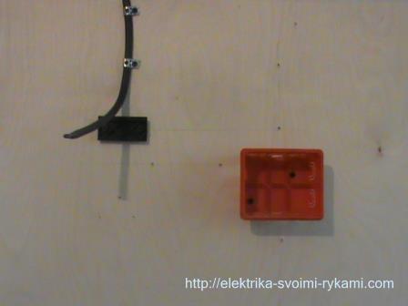 Схема подключения двухклавишного выключателя 4