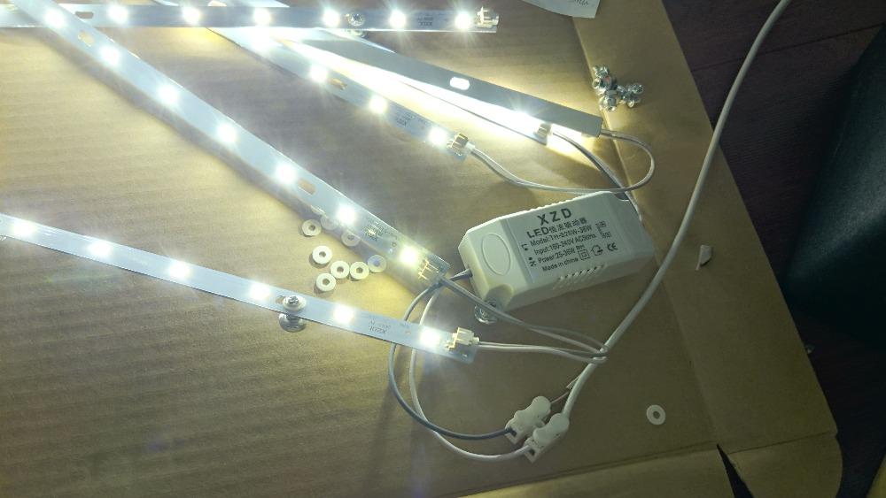 Люминесцентные встраиваемые линейные светильники