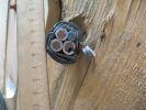 Фото медного кабеля ВБбШв 3х25+1х16 бронированного стальными лентами для прокладки в грунте