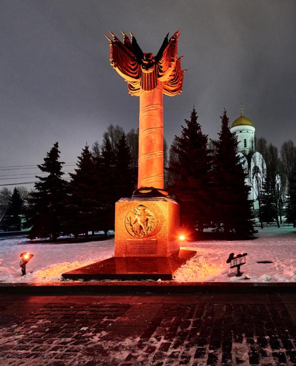 1) Памятные стелы Фронтам и Флотам, Парк Победы, Поклонная гора, г. Москва
