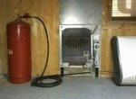 Установка газового обогревателя в доме