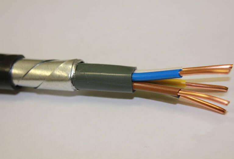 Фото бронированного проводника