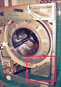 Установка дополнительного противовеса в стиральной машине LG