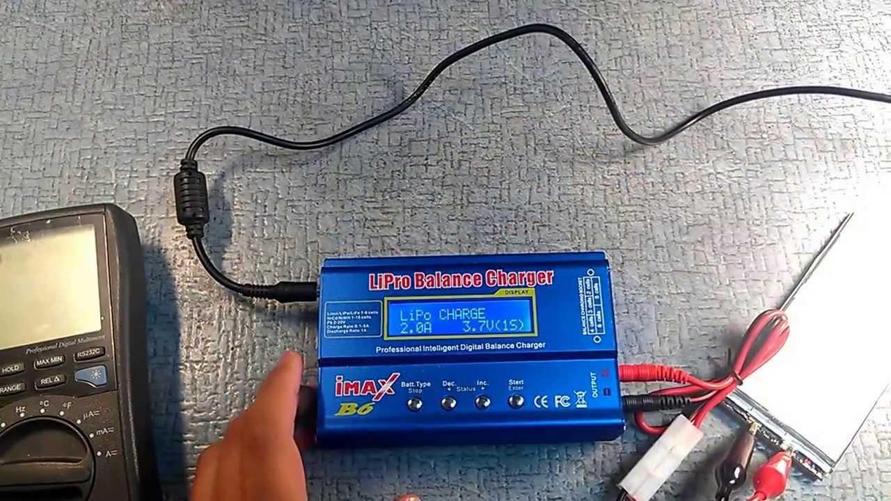 Как зарядить литий ионные аккумуляторы 18650