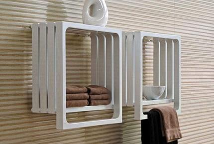 Дизайн электрических полотенцесушителей
