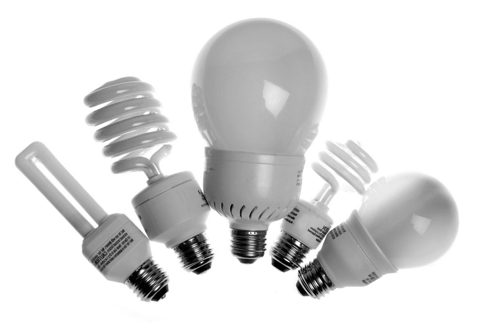 энергосберегающие, формы ламп