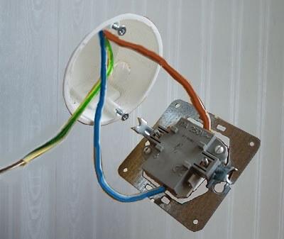 Подключение без заземляющего провода