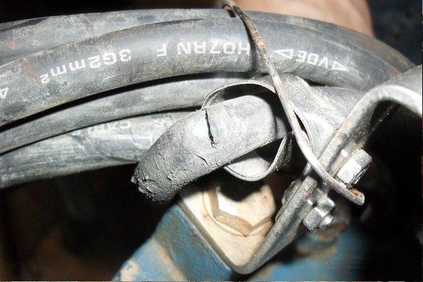 Перегорание обмотки двигателя из-за разгерметизации