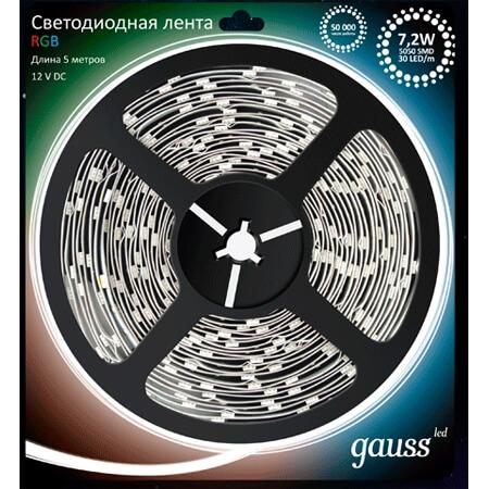 LED лампы Gauss