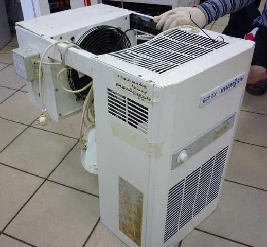 Моноблок для холодильной камеры.