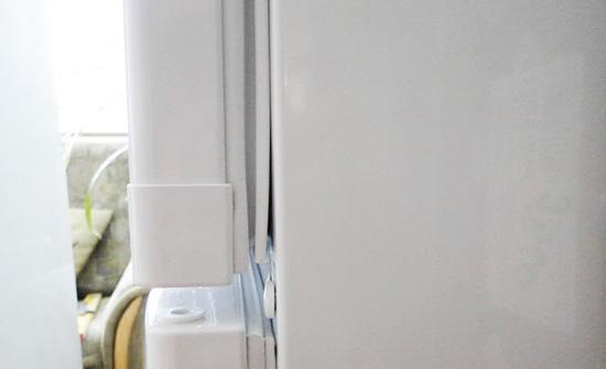 Изношена уплотнительная резинка холодильника