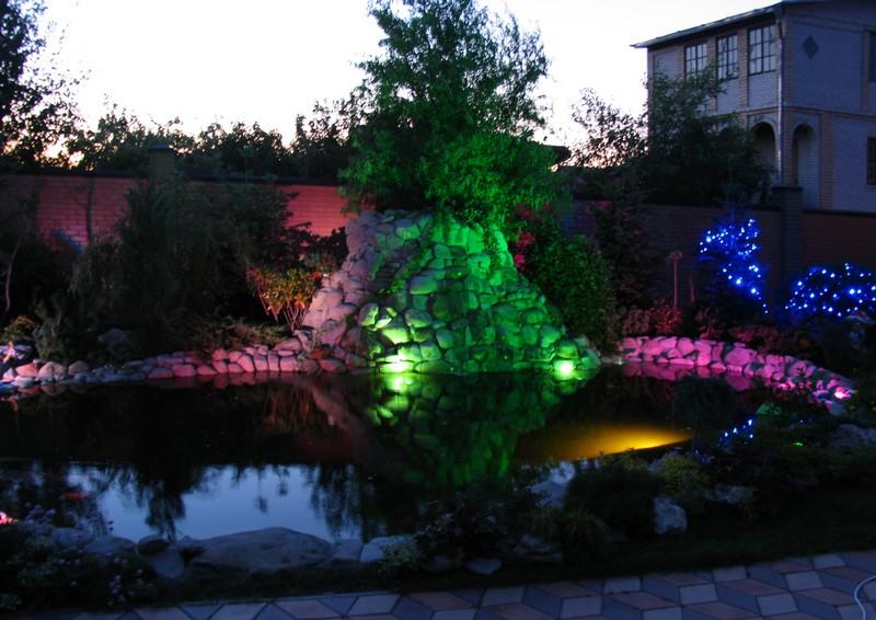 LED-освещение дачного участка