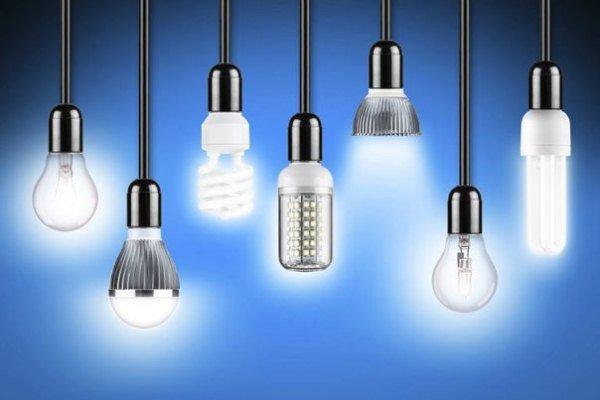 виды ламп для люстр и светильников в гостиной