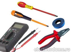 интсрумент для ремонта электропроводки