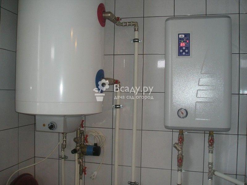 Электрокотел нагревательный для дачи