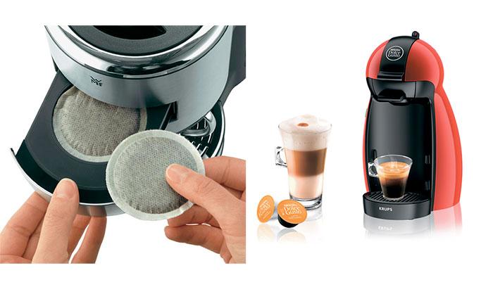 Капсульные и чалдовые кофеварки