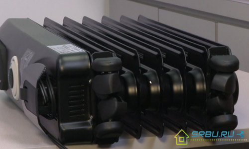Радиатор с колесиками