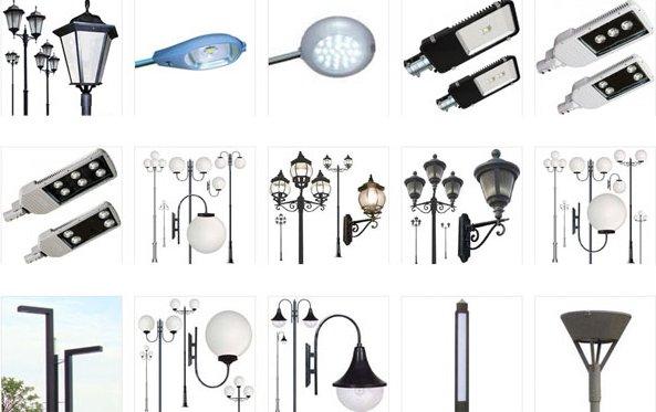 Фото видов светильников для уличного освещения дома, snppo.ru