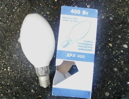 Мощность лампы