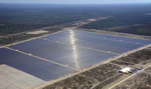 Массивы солнечных панелей
