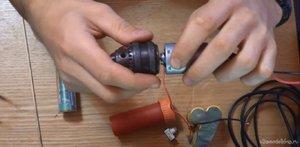 Как можно сделать мини дрель своими руками